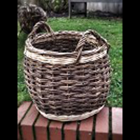 Pea Picker Log Basket