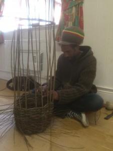 Norfolk Hedge Baskets - Basket Making Courses - Another Happy Basket Maker!